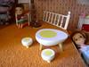 fabulous egg table (megipupu) Tags: vintage miniature doll 70s rement seventies dollhouse lundby