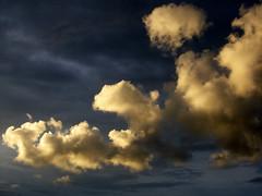 Golden clouds (kees straver (will be back online soon friends)) Tags: sky clouds canon landscape gold outdoor diemen mywinners abigfave keesstraver