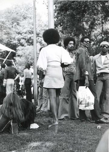 Vondelpark in Amsterdam, 1975
