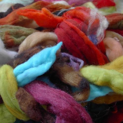 patchwork fiber