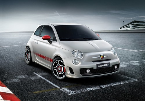 2008 Fiat 500 Abarth high res,car, sport car