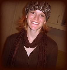 Jairin's beautiful smile (Drevski) Tags: smile hat redhead wife hottie iloveyoursmile jairin