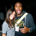 Flavorpill photo maestro Justin Charles with lovely partygoer Melanie.