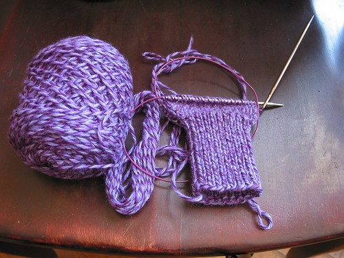 WIP: another pair of mittens