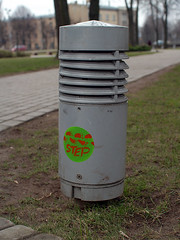 park (naba_ stickers) Tags: streetart stickers jelgava