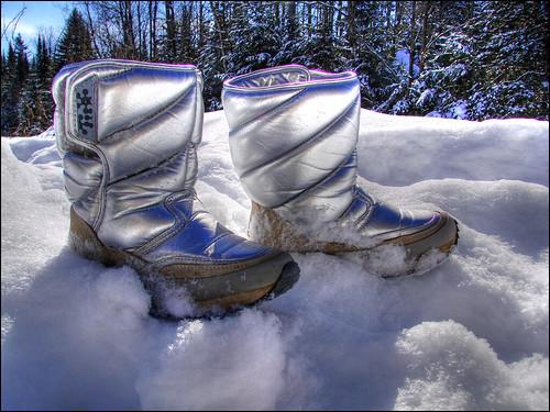 winter snow boots hiver neige intergalactic bottes