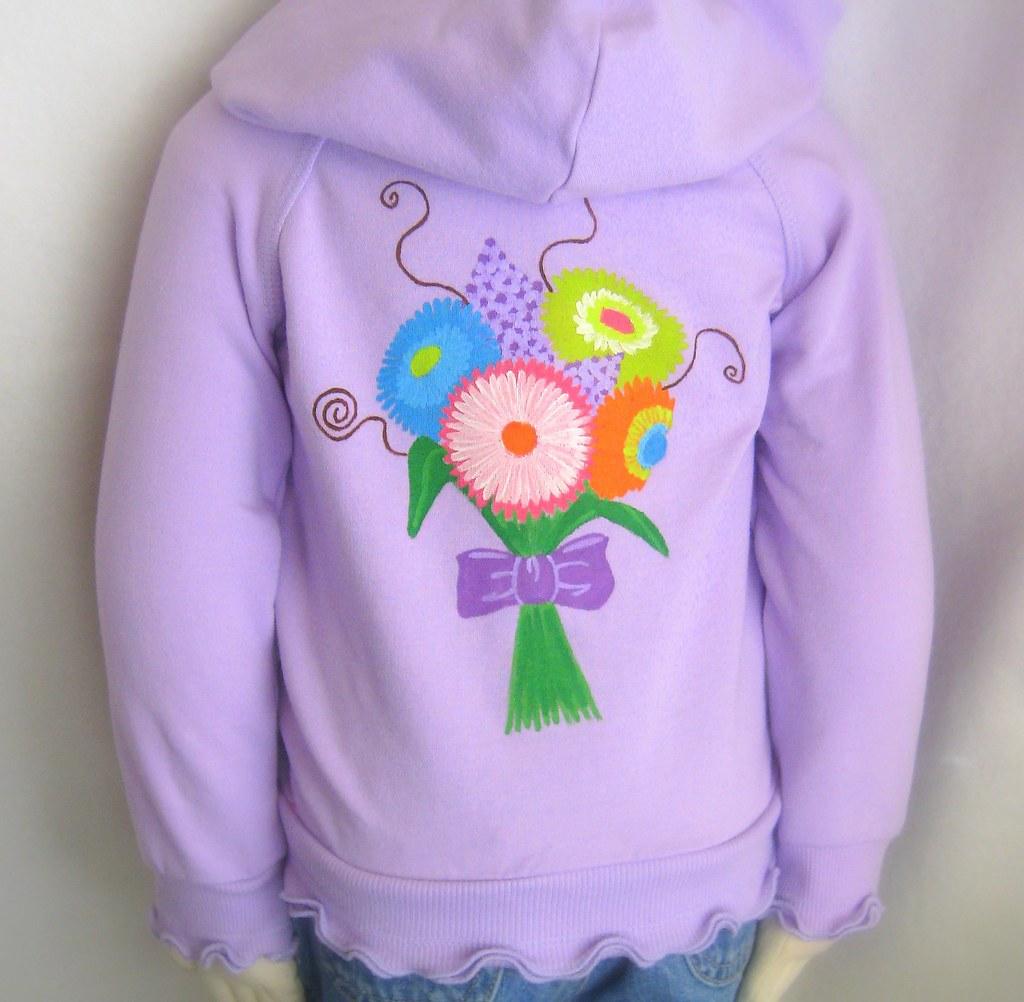 Lavender Bouquet Hoodie
