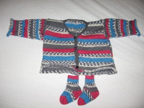 Devan sweater: front