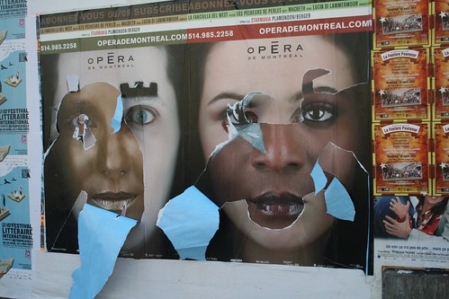 Amazing advertisement for Montreal Opera 2