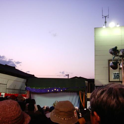 【写真】秩父歌舞伎。