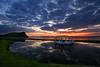 Sunset at Ayr, Scotland (i.rashid007) Tags: uk sunset sea holiday haven landscape evening scotland resort ayr ayrshire sigma1020mm craigtara craigtaracaravanresort