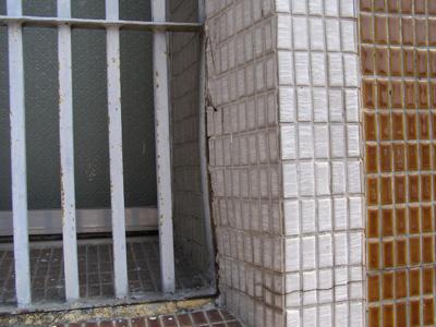 台中市農會-老舊窗框