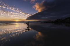Surfing until dusk (jojesari) Tags: ar117g 12514 surf playadalanzada ogrove ocaso sunset atardecer puestadesol ocasos jojesari lightroom