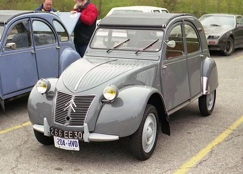 citroen 2cv de 1955
