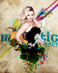 Britney Spears: Majestic Lady (SantiagoM.) Tags: lady photoshop tour amy fireworks spears circus flash adobe u if illustrator seek majestic britney desgin womanizer santiagom