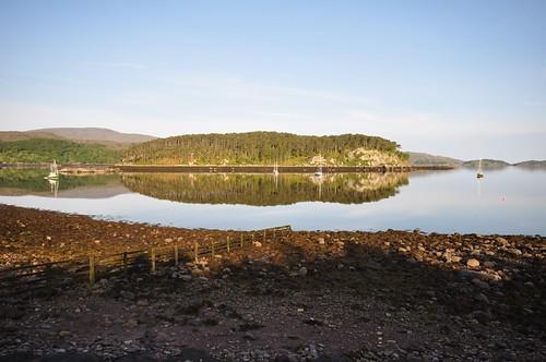 Loch Shieldaig from the breakfast table