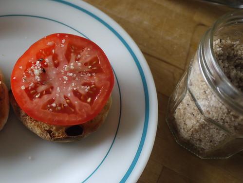 smoky salt tomato