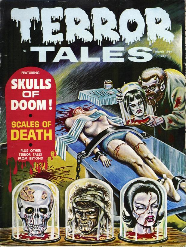 Retrospace Vintage Scares 25 1970s Horror Comics Part 2