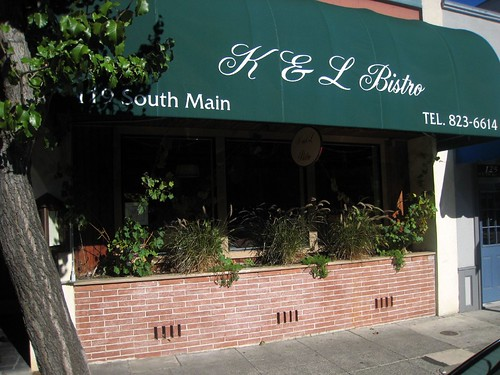 K & L Exterior on Main Street in Sebastopol