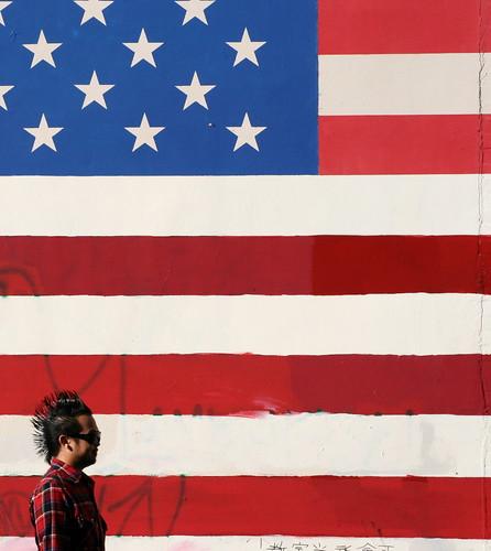 Flag Fragment by hey mr glen