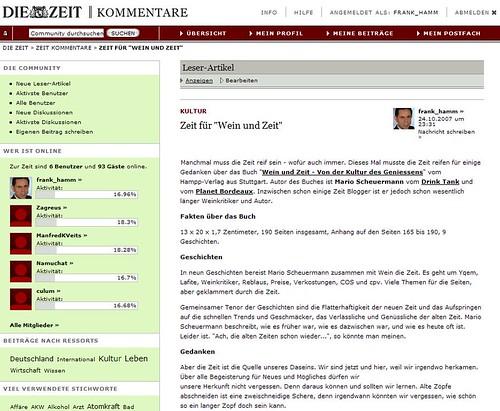 Die ZEIT - Kommentare