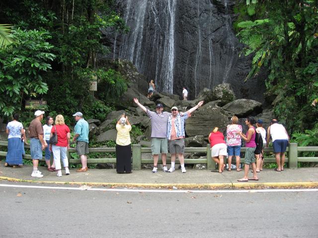 Britt and Dave at Coco Falls