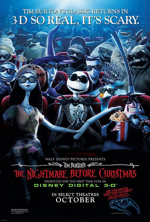 Nightmare Before Christmas 3-D