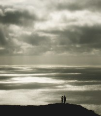 vertigo (hanna.bi) Tags: ireland sea summer sky cliff holiday clouds landscape vertigo donegal slieveleague hannabi 25faves fivestarsgallery