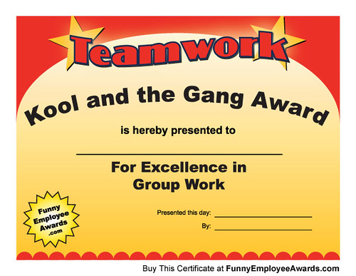 Award Funny Certificates