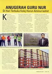 Majalah NUR Feb (JMK KHAR-UPSI PioneeringVersatility) Tags: media di khar akhbar upsi
