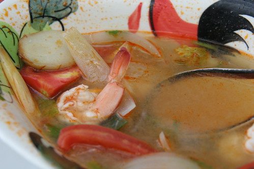 tom yon soup close up