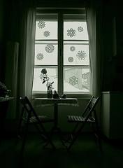 Morning atmosphere (marbil) Tags: morning winter light blackandwhite bw home window composition corner interestingness apartment dom room atmosphere stan soba cinematic greatpix zima atmosfera 2007 prozor kut svijetlo jutro interestingness80 i500 canon400d kompozicija