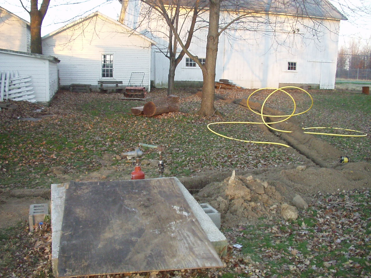 Private Natural Gas Well Plumbing Diy Home Improvement