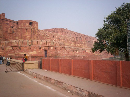 Agra Fort or the Red Fort.