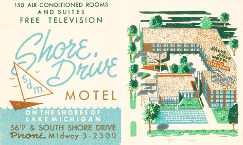 Shore Drive Motel, Chicago, Illinois by jericl cat