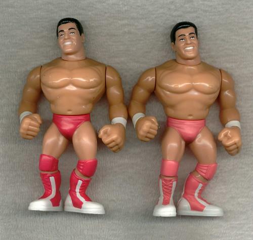 See Photos! Good Paint WWE WWF Hasbro Titan Sports Loose Figures Actions Work