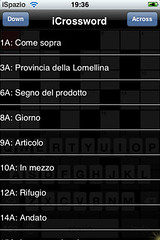 Crossword iSpazio Easy Level italian (1)
