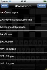 Crossword iSpazio Easy Level italian (1)