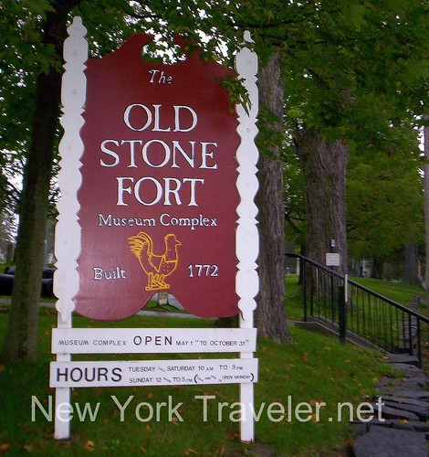 Old Stone Fort Sign