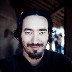 Self Portrait - Malinalco (Luis Montemayor) Tags: shadow selfportrait eye mexico ojo eyes sombra ojos autorretrato malinalco estadodemexico luismontemayor