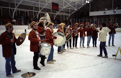Band On Ice (Joe Shlabotnik) Tags: princeton 1989 faved princetonband february1989 bakerrink myphotoseverywhere