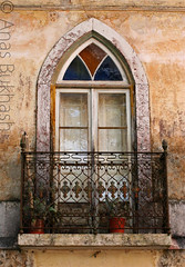 Portugese window... (Anas Bukhash (nascity)) Tags: old portugal window europe village lisbon sintra portugese lisbao nascity