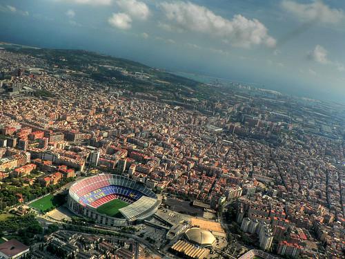 Camp Nou-stadion i Barcelona