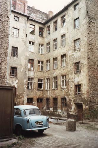 East Berlin apartment building 1990