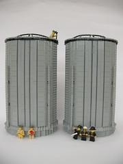 Funnels (Smoke Stacks) 5 (Lego Monster) Tags: ship lego military navy wip ww2 hood battleship warship hms battlecruiser