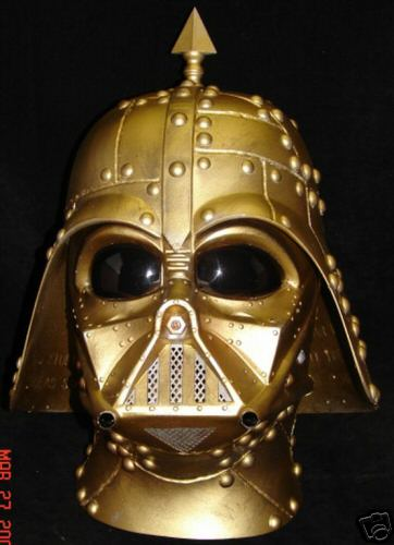 darth vader mask. This Vader mask was sitting on