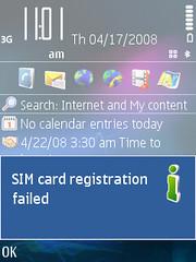 SIM Problems