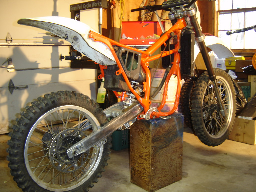 1988 KTM 500mx project