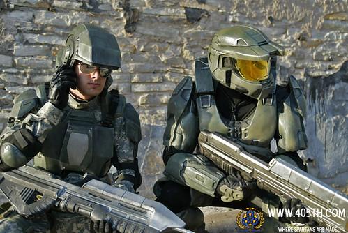 Master Chief Armor Halo Marine Austin (3) - a photo on