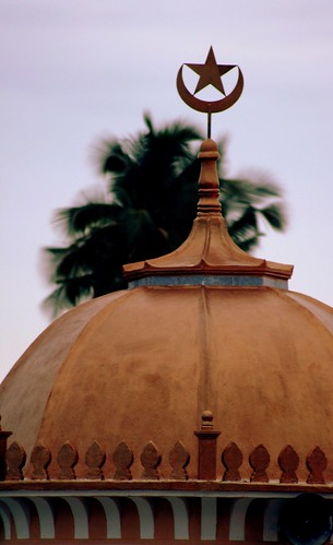 dome of Masjid Haji Imam